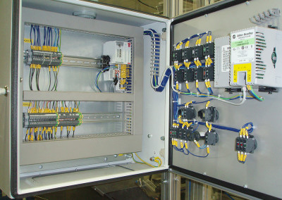 Manufacture of control cabinets